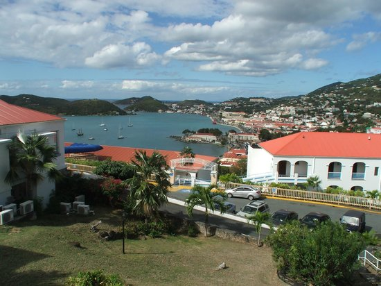Bluebeard's Castle Resort :                   View of Charlotte Amalie from the Castle