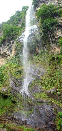 Maracas Falls :                   the end