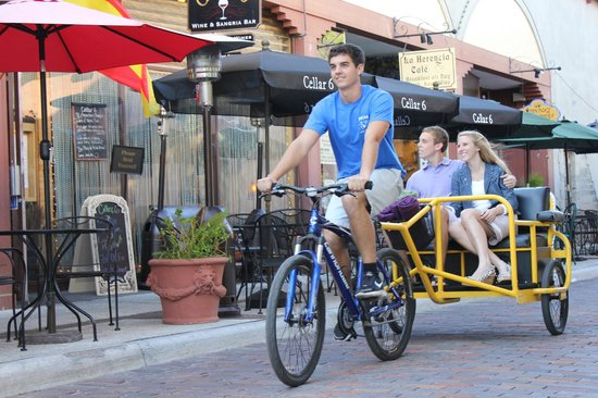 Pedicab of St. Augustine Photo