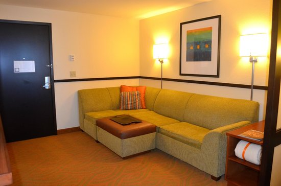 Hyatt Place San Antonio-North/Stone Oak: Living Room Area