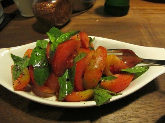 Allora:                                     Tomato Salad