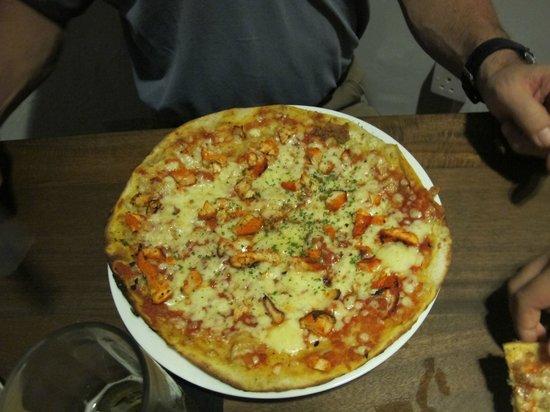 Allora:                                     Pizza