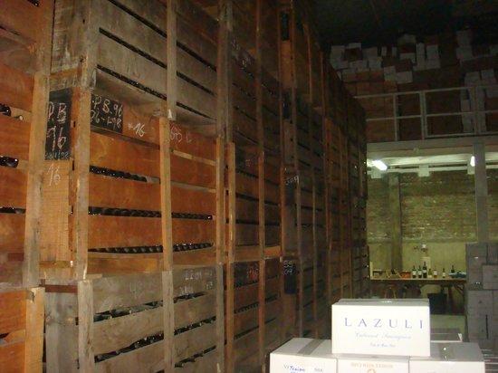 Vina Aquitania:                   Estoque garrafas