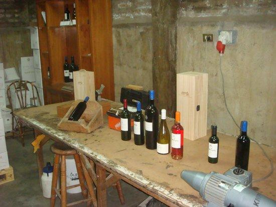 Vina Aquitania:                   Vinhos