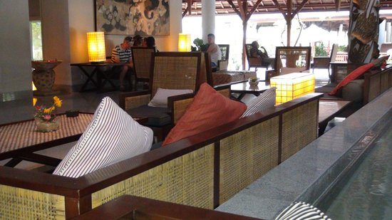 Padma Resort Legian:                   ロビー