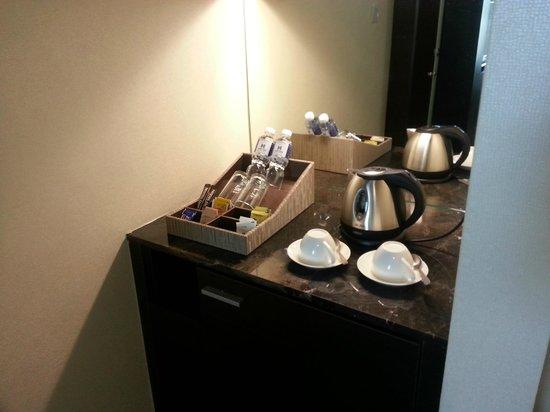 Hatten Hotel Melaka: Mini bar area