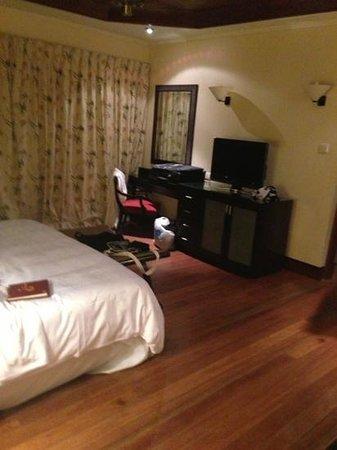 Century Langkawi Beach Resort:                   the main room. nothing wow