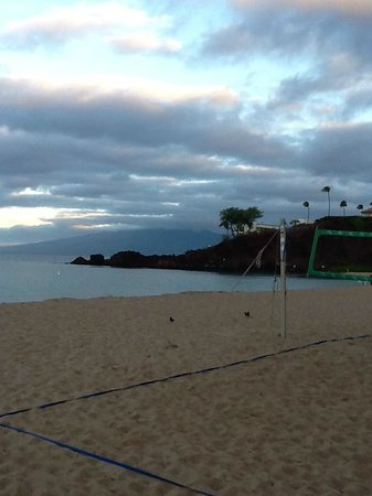 Kaanapali Beach Hotel:                   view of Black Rock from the corner of the property at KPBH