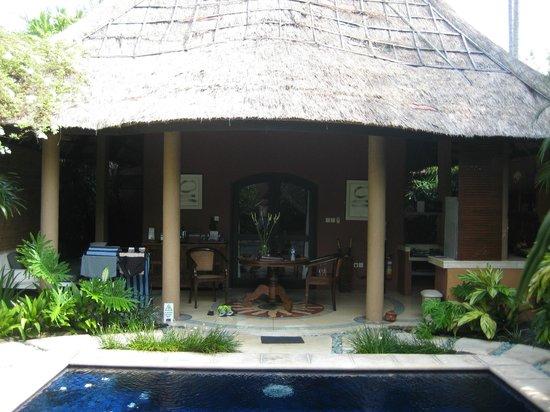 The Villas Bali Hotel & Spa:                   Villa looking from pool