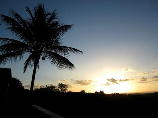 La Finca Vieques: Levée du soleil sur la terrasse du bâtiment principal