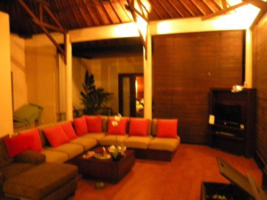 Kamuela Villas and Suite Sanur:                   Living Area - 3-bed Villa