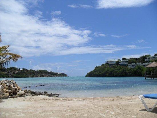 The Verandah Resort & Spa:                                     Small beach