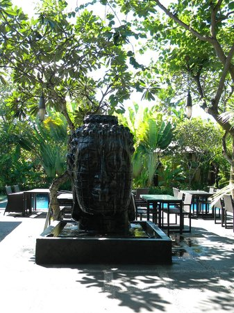 Kamuela Villas and Suite Sanur:                   Hotel Restaurant - Caramel's