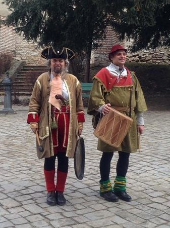 Fronius Residence:                   Locals dressed appropriately to well you to Sighisoara