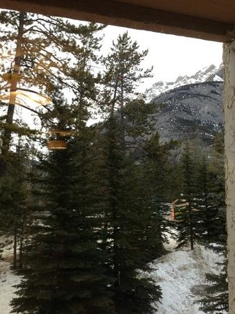 Banff Rocky Mountain Resort:                   view from our room