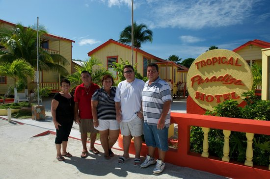 Tropical Paradise Hotel: The Reyes Family... your Hosts