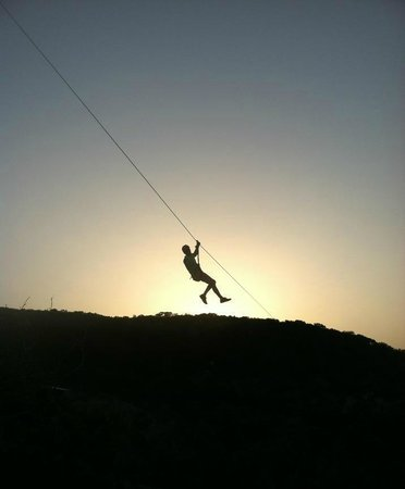 Wimberley Zipline Adventures: Flying off into the sunset at Wimberley Zipline!