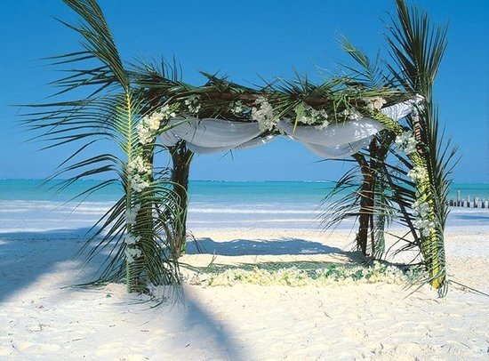 Breezes Beach Club & Spa, Zanzibar: Wedding Canopy