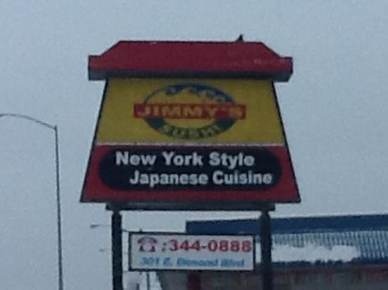 Jimmy's Sushi :                   In Anchorage, Ak???  Really???