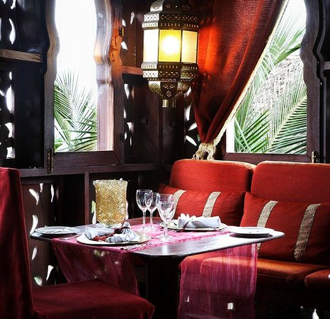 Breezes Beach Club & Spa, Zanzibar: The Sultans Table