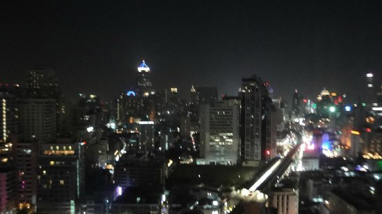 Sofitel Bangkok Sukhumvit:                   Night view at my room