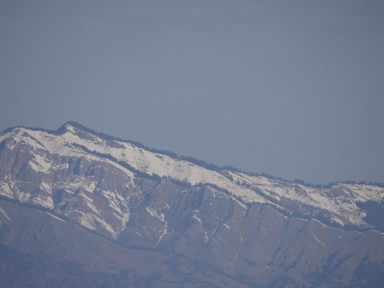Club Mahindra Mussoorie:                   Snow Capped Mountain