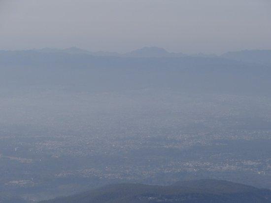 Club Mahindra Mussoorie:                   Foggy pleasant climate
