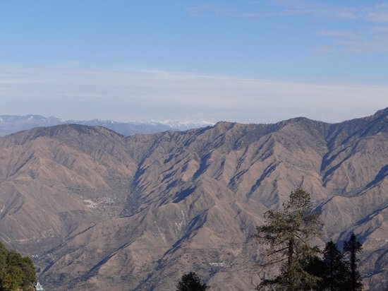 Club Mahindra Mussoorie:                   View outside the resort