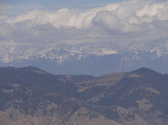 Club Mahindra Mussoorie:                   Cloud Snow Mountain