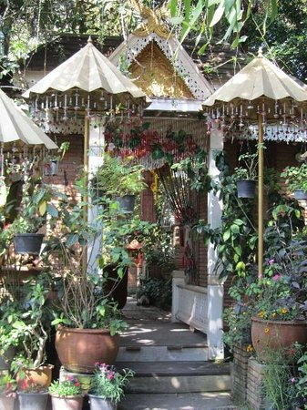 Suan Doi House Hotel & Resort :                   Suan Doi House entrance