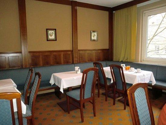 Das Capri:                   Sala colazione