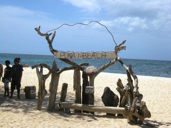 Yapak Beach (Puka Shell Beach) :                   Puka Beach