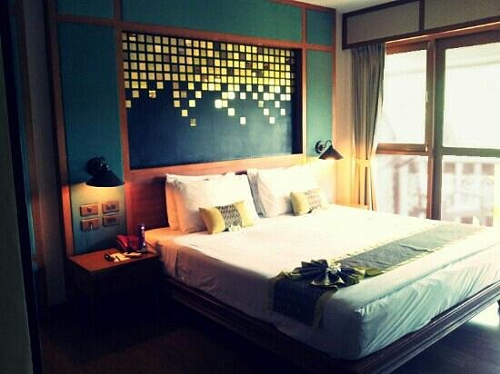 P.P. Erawan Palms Resort:                   Room 223, we loved it.
