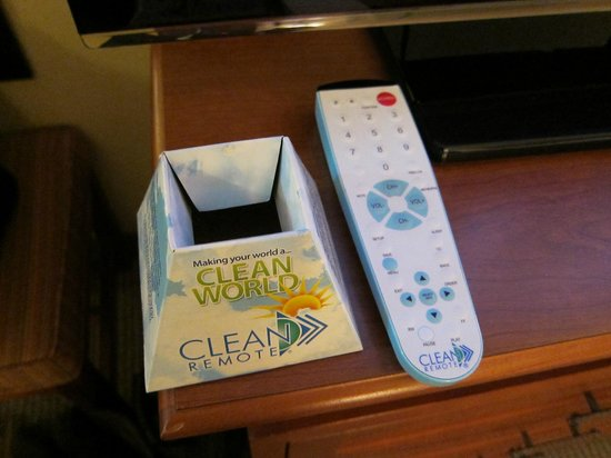 BEST WESTERN PLUS Skagit Valley Inn And Convention Center:                   Clean Remote