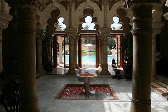 Palais Mehdi :                   Entrée principale