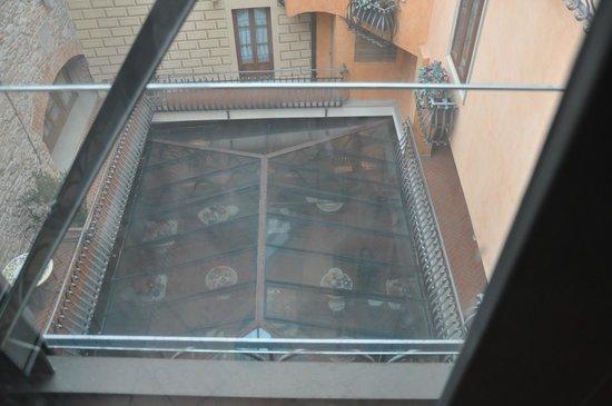 Hotel Alba Palace:                   Veduta dall'alto della sala da colazione