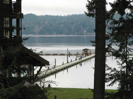 Alderbrook Resort & Spa:                   Dock, where you'll find some water activities.