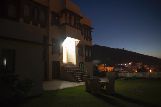 Adhbhut Hotel:                   the garden