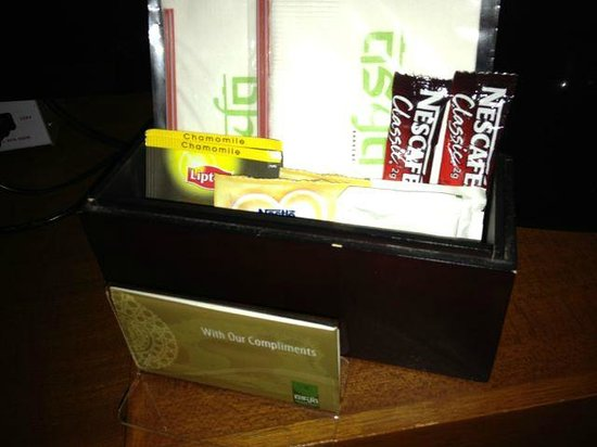 Asya Premier Suites:                   Nescafe packets for in room coffee... not 5*                 