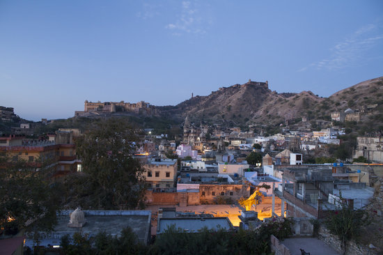 V Resorts Adhbhut Jaipur:                   View from the rooftop