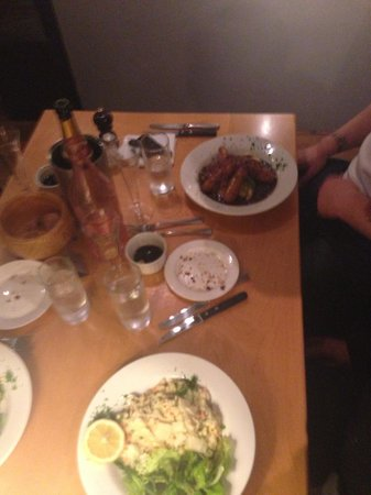 Godot's Brasserie: Meal with the chaps