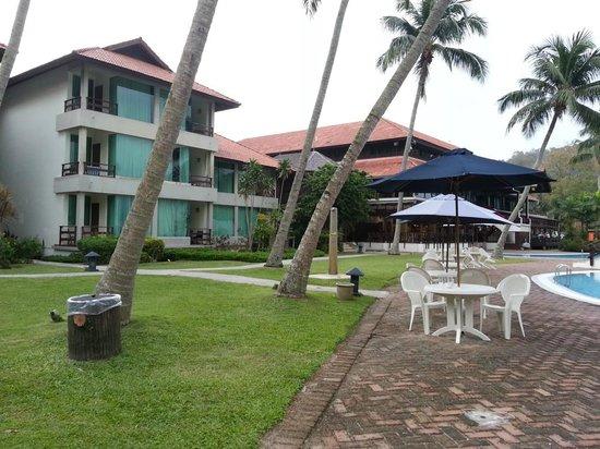 Pangkor Island Beach Resort:                   Resort Sea View