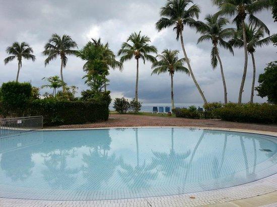 Pangkor Island Beach Resort:                   Pool area