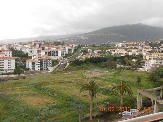 Casa del Sol:                   View from the balcony