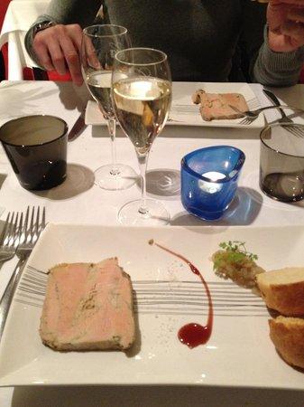 N'Autre Monde :                   Entrée foie gras