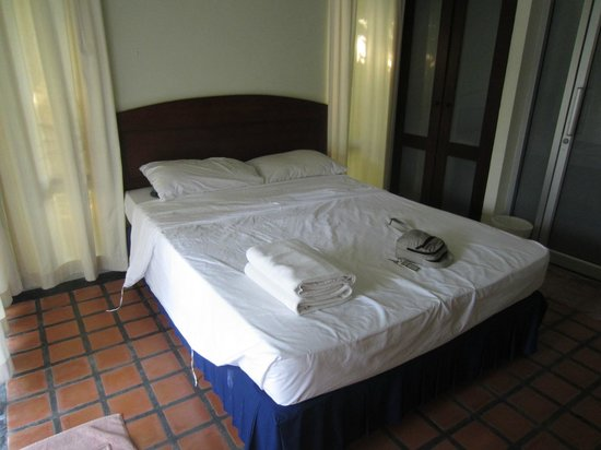 Thiptara Resort : Bed