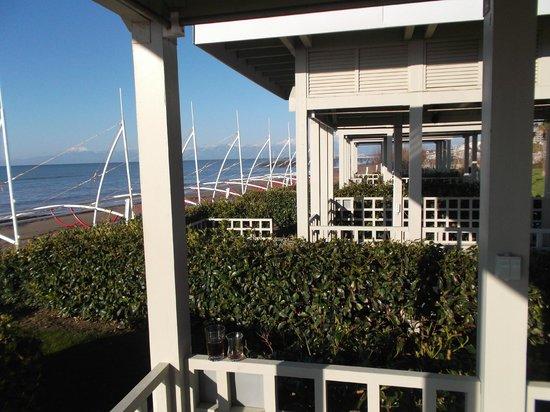 Susesi Luxury Resort:                   Mietbare Strand Chalets vom Hotel