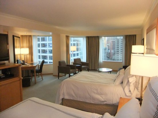 Pan Pacific Vancouver:                   Room 1107