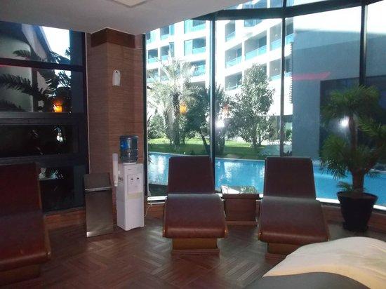 Susesi Luxury Resort:                   Saunabereich