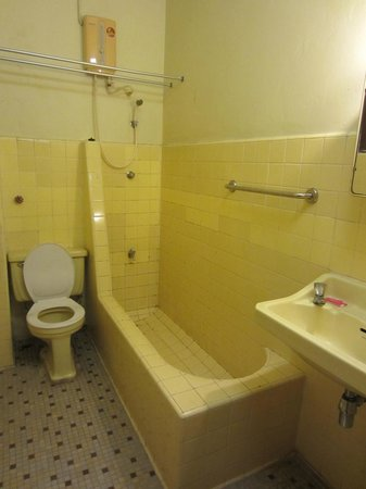 Atlanta Hotel:                                     Salle de bain